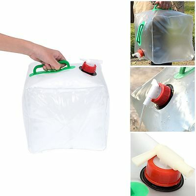 Outdoor Folding Collapsible 20L Drinking Water Bag Car Water Carrier Container
