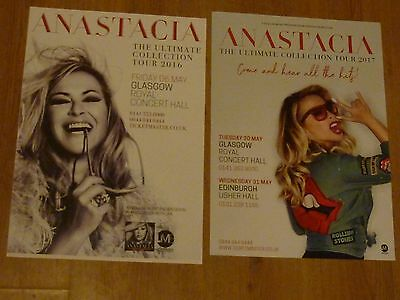Anastacia - Scottish tour concert gig posters x 2