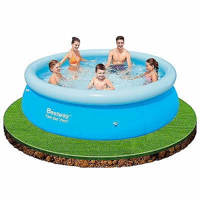 HOT SALE 8ft Bestway Fast Set Outdoor Indoor Inflatable Family Swimming Pool