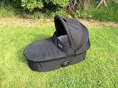 Babystyle Oyster Black Carrycot Fits 1 2 And Max Upper
