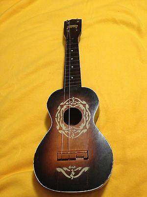 Vintage Harmony Ukulele. For Parts Or Repair.
