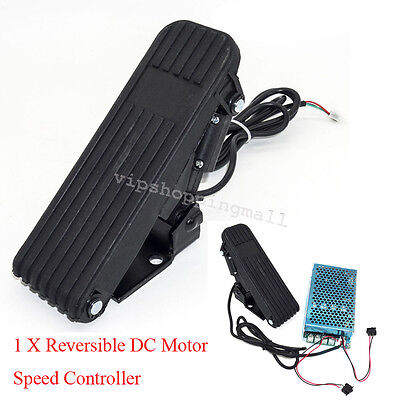Compact 10-50V 100A 5000W Reversible DC Motor Speed Controller PWM Control Nice
