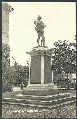 Bedford South African War Memorial Vintage Tuck Printed Postcard