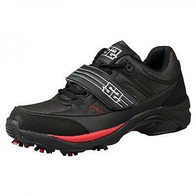 S2 The Flash Cleats Paintball-Schuhe, Schwarz/Rot