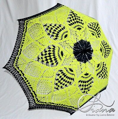 Umbrella Handmade Crochet Yarn Decor Style Moder Design Knitting Knit New