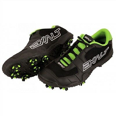Exalt TRX Cleats, Black/Lime
