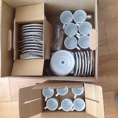 Nespresso Professional cups,saucers and spoons ( 66 Pieces )
