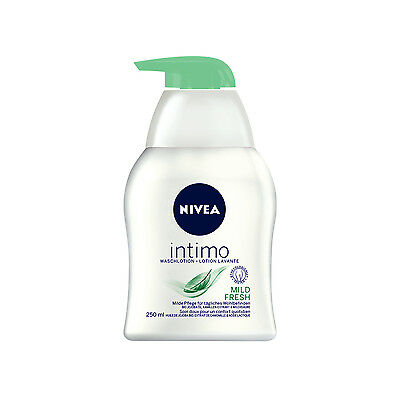 (16,48€/L) 250ml Nivea intimo Waschlotion Mild Fresh Intimpflege Pumpspender