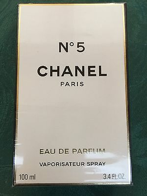 Chanel No 5 Eau De Parfum 100ml spray Bottle