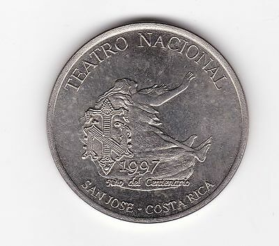 Costa Rica: Medal - National Theater Comm Medal 1997