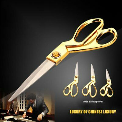 Professional Stainless Steel Blade Zinc Alloy Handle Tailor Sewing Scissors 4AS