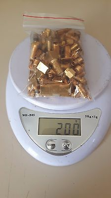 200gram/7.05oz Military Gold Plated Pins Cpu HIGH YIELD Scrap Refining Recovery