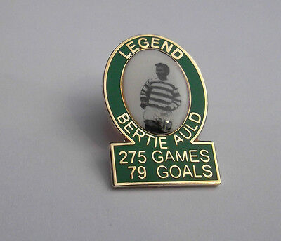 Celtic Legend Badge Bertie Auld