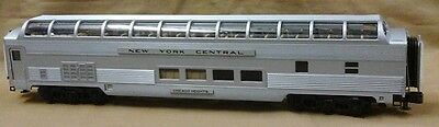 MTH Premier O Scale Streamlined Vista Dome Passenger NEW YORK CENTRAL 20-67127