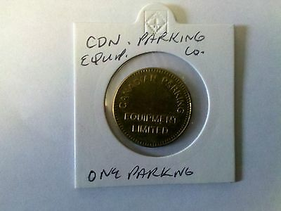 Canadian Parking Equipment Limited  Parking Only Token