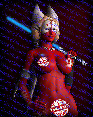 """Star Wars Fine Art Shaak Ti 11X14 Matted """"Ready for Framing"""""""