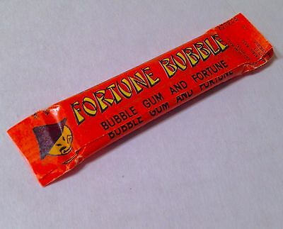 RARE Vintage 1985 Albert & Sons FORTUNE BUBBLE Gum Pack candy container SEALED