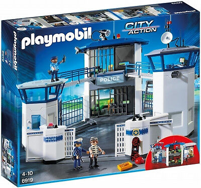 Playmobil 6919 Police Headquarters with Prison