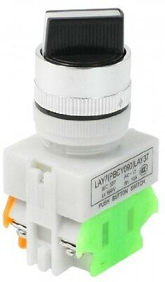 AC 660V 10A 2 Position Rotary Selector Switch 22mm 7/8' DPST