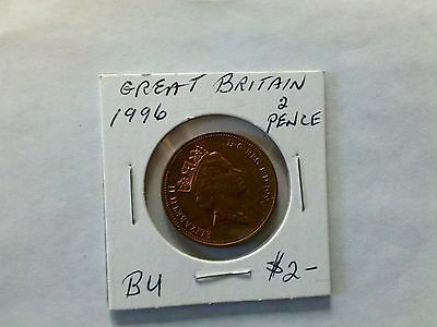 Great Britain 1996 2 New Pence