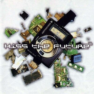 Various Artists - Kiss The Future V 3 Vinyl LP 2002 Atomic Records PsyTrance New