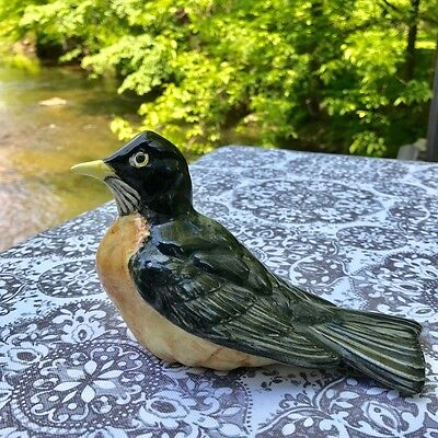Rare, Beautiful, Signed Pensbury Robin is ready to build a nest in your home.