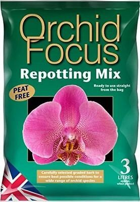 Orchid Focus Repotting Mix 3L - Compost for Orchids
