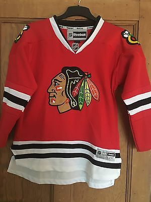 Chicago Blackhawks Official Replica Jersey - L/XL BOYS