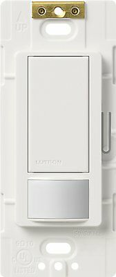 Lutron MS-OPS2-WH Maestro Single Pole Occupancy Sensing Switch, White