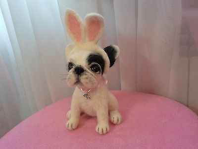 The French Bulldog is a little hare.Unique & exclusive Toy