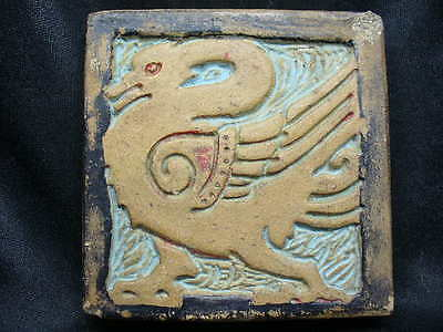 Batchelder Los Angeles California Tile with Swan or Goose