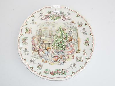 Pretty Royal Doulton The Twelve Days of Christmas Plate.c.1989.