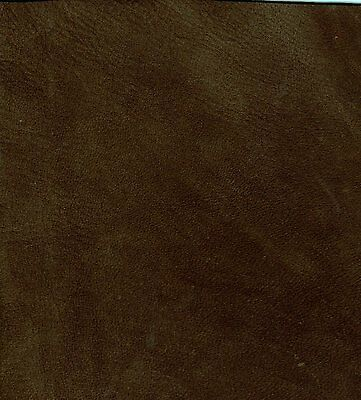 60 sq ft  (surface area) SABLE BROWN NUBUCK Leather Hide / skin for Upholstery