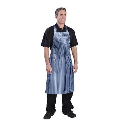 Whites Chefs Apparel Waterproof Bib Apron Kitchen Catering Cooking Restaurant