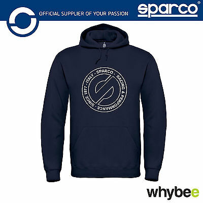 New! 01227 Sparco Hoodie Jumper Special 40th Year 1977-2017 Limited Edition