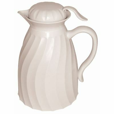 Kinox Insulated Beverage Server White Pitcher Carafe Hot Pot Jug Mug Tableware