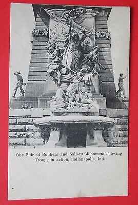 Soldiers and Sailors Monument Indianapolis IN Unposted UDB Postcard