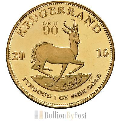 2016 Proof 1oz Gold Krugerrand 90th Birthday
