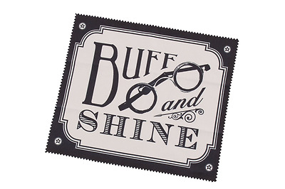 Dapper Chap Buff and Shine Glasses Microfibre Cleaning Cloth Gift For Him