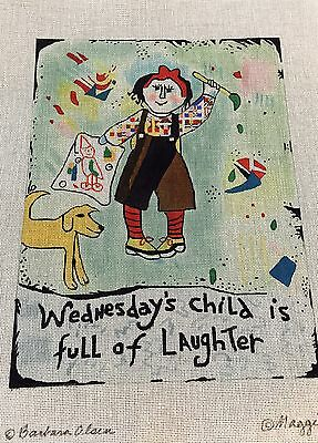 """Maggie Co Needlepoint Canvas 18M  9.5""""X12.5"""""""