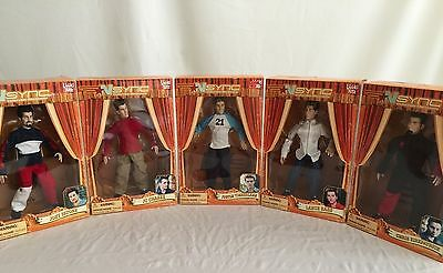 "NSYNC  10"" Marionette Collectible Doll Figures COMPLETE SET UNOPENED"