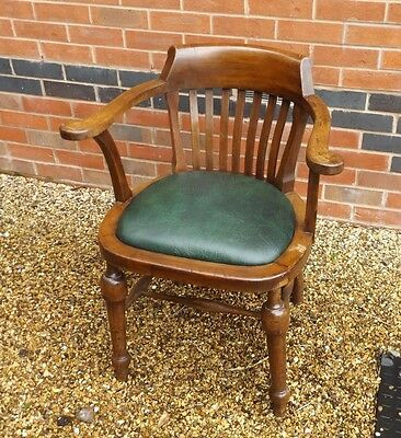 Walnut Air Ministry Ww2 Captains Chair 1940S Raf Battle Britain Blitz Delivery