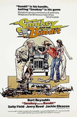 Smokey And The Bandit Laminated Mini Movie Poster Burt Reynolds