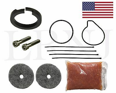Audi Allroad C5 C6 Air Suspension Compressor Piston Seal & Dryer Rebuild Kit