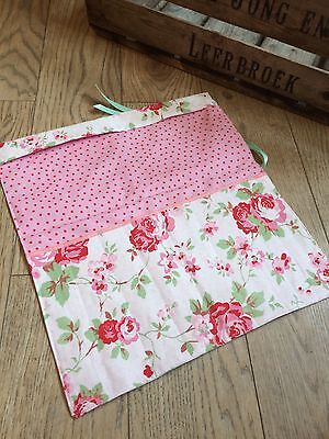 KNITTING NEEDLE CASE /ROLL, KNITTING GIFT, Cath Kidston  Fabric From IKEA.