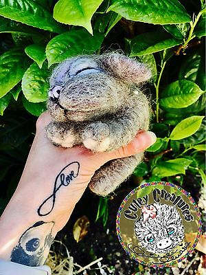 Ooak Baby Nalla ❤️ One Of A Kind Needle Felted Creature