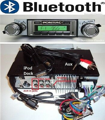 1978-81 Firebird Bluetooth Stereo Radio USB/Aux  Switch Back AM Dial 630DFB