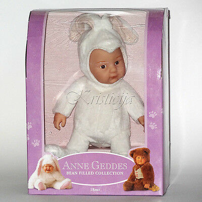 ANNE GEDDES DOLLS SELECTION FOR PLAY OR REBORN NEW IN a Gift BOX White Bunny