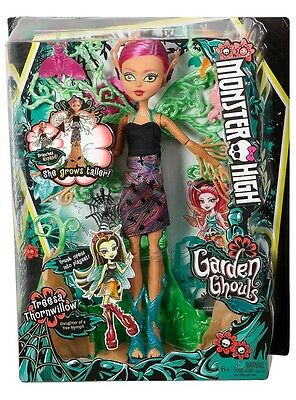 """Monster High Garden Ghouls - Treesa Thornwillow 14.5"""" inch Doll - BRAND NEW"""