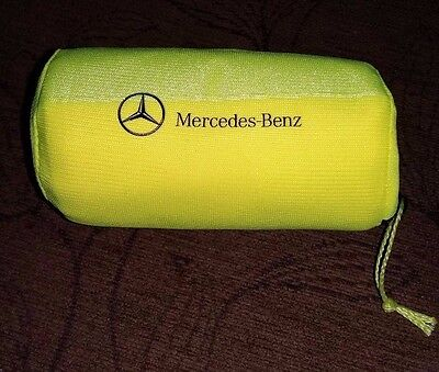 MERCEDES-BENZ WARNING VEST (YELLOW) IN FABRIC BAG, COMPACT, ECE Ref A0005833500